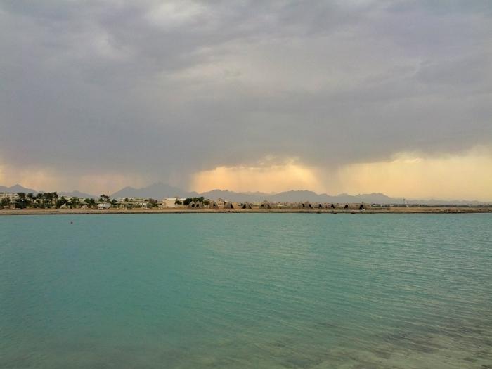 дощ в хургаді єгипті