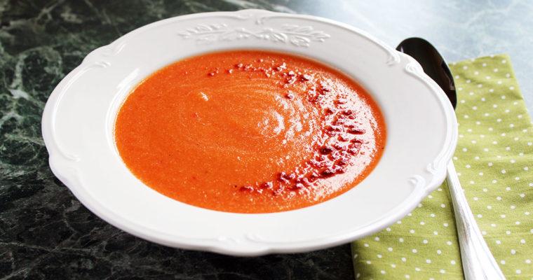 Суп з цвітної капусти та паприки